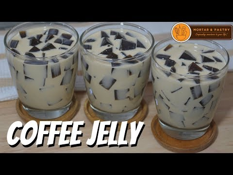 COFFEE JELLY | How to Make Coffee Jelly Dessert | Ep. 71 | Mortar and Pastry