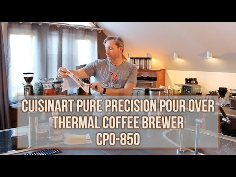 The Official Unboxing of the Cuisinart CPO-850