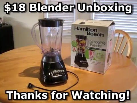 Hamilton Beach Smoothie Blender $18 UNBOXING & Review Body Building Meals Muscle Diet Low Carb