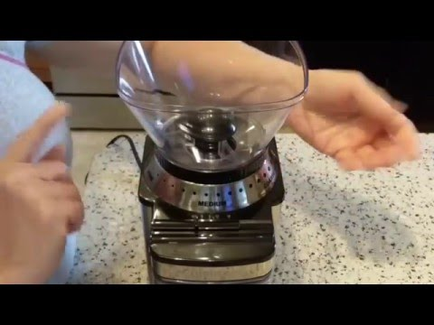 Cuisinart DBM-8 Coffee Grinder: How to Disassemble for Cleaning