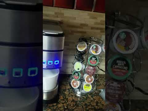 Cuisinart SS-15 k-cup/reusable k-cup coffee demonstration