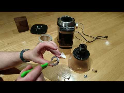 Modify a Cuisinart Coffee Grinder Burr For Finer Espresso