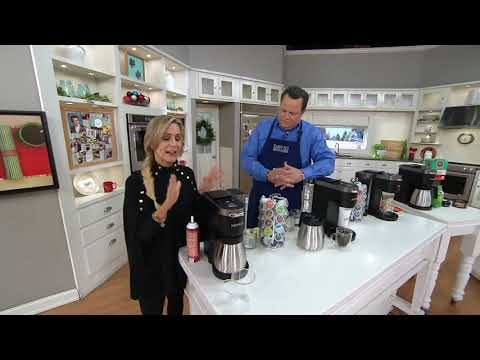 Keurig K-Duo Plus Coffee Maker w/ Ground Coffee, My KCup & 22 K-Cups on QVC
