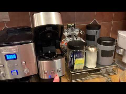 Cuisinart K cup Cleaning red light off