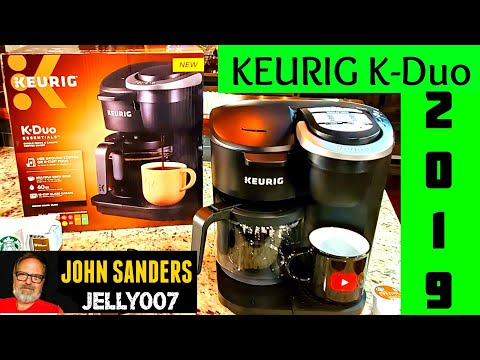 KEURIG K-Duo ESSENTIALS | DUAL PURPOSE | K CUP & GROUND COFFEE BREWER 2019