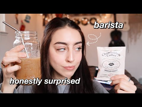 Trying Emma Chamberlain's Coffee Brand