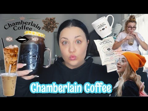 *COFFEE ADDICT* I TRIED EMMA CHAMBERLAINS NEW COFFEE|CHAMBERLAIN COFFEE REVIEW