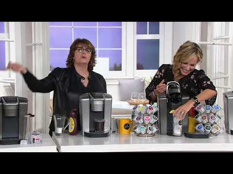 Keurig K-Elite Coffee Maker w/ My K-Cup, Filter, and 40 K-Cup Pods on QVC