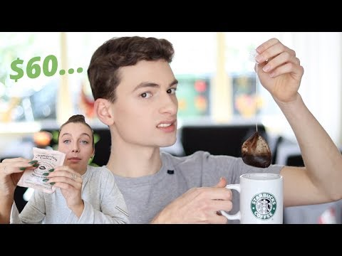 i spent $60 on emma chamberlain coffee… (hint: it's gross)