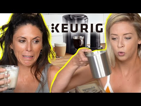 Unboxing & Testing a Keurig K-Cafe Latte & Coffee Maker!