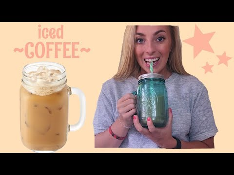 HOW TO MAKE ICED COFFEE WITH KEURIG | DIY