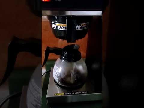 Cómo usar la cafetera BUNN