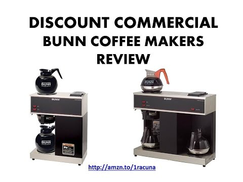 How to use BUNN VPR Commercial Coffee Brewer