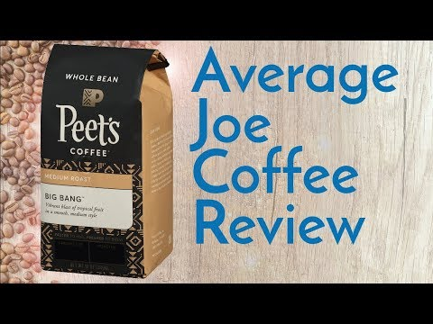 Peet's Big Bang Coffee Review