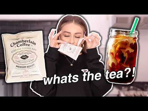 Trying Emma Chamberlain Coffee | YesHipolito