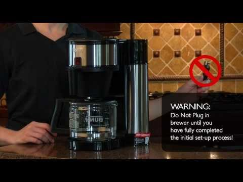 How to set-up BUNN® Velocity Brew®