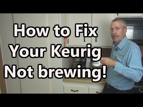 How to Fix Your Keurig Not brewing!