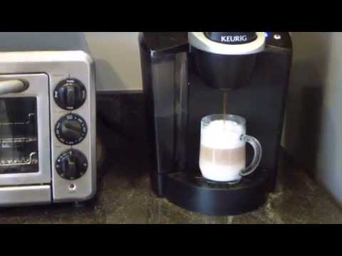 Making Latte with Keurig