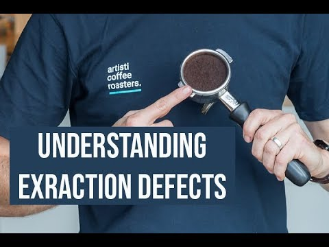 Understanding Coffee Extraction Defects from an Espresso Machine