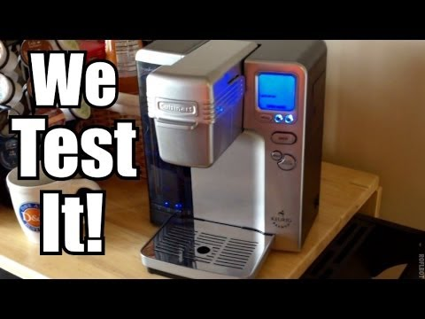 REVIEW: Cuisinart SS-700 Keurig Coffee Brewing System