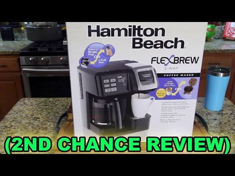 HAMILTON BEACH Flexbrew (2nd Chance review)