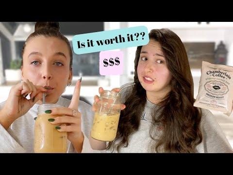 Emma Chamberlain Coffee taste test (is it worth the cost?)