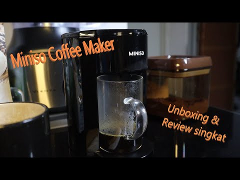 Unboxing #10 & Review singkat Coffee Maker Miniso