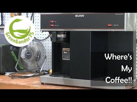 Where's My Coffee!!  BUNN Coffee Maker Repair