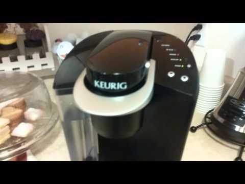 Como utilisar la cafetera keurig b40