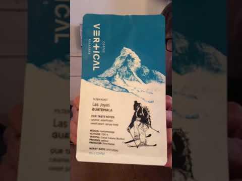 1 Minute Coffee Review: LAS JOYAS by Vertical Coffee Roasters