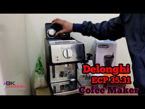 Delonghi ECP 35.31 unboxing  dan test bikin espreso