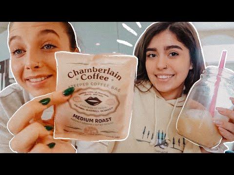COFFEE *EXPERT* REVIEWS @emma chamberlain 's COFFEE BRAND! | Francesca Grace