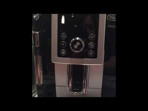 DeLonghi咖啡機除水垢示範 DeLonghi Magnifica S Descaling Demo