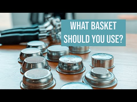 In your ESPRESSO MACHINE which basket should you use?