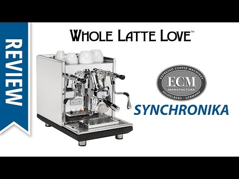 Review: ECM Synchronika Espresso Machine