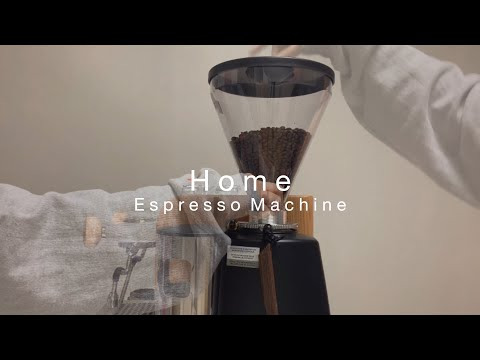 Home Espresso machine which I chose, Barista Joy Studio, Home cafe vlog