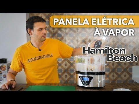 UNBOXING Panela Elétrica À VAPOR Hamilton Beach – PRODUTOS CURIOSOS EP. 07 | Harpyja