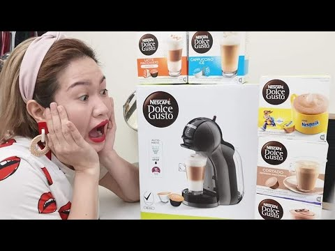 UNBOXING | DEMO using my new Dolce Gusto Mini Me Coffee Machine