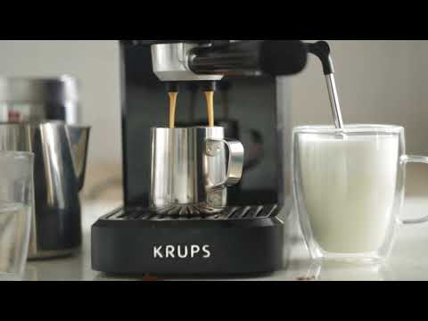 Krups XP 3440 Home Espresso Machine – Latte Macchiato & Americano