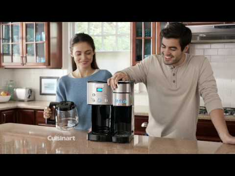Coffee Center™ 12 Cup Coffeemaker and Single Serve Brewer (SS-15)
