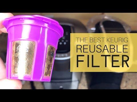 Best Keurig Reusable Filter – 24K Gold Cup