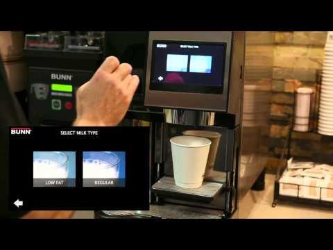 BUNN® Sure Tamp® Automatic Self Serve Espresso Machine