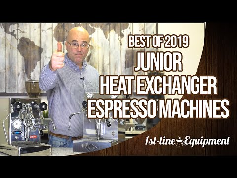 Espresso Machines – Best of 2019 Junior Heat Exchangers