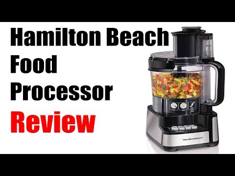 Hamilton Beach 12 Cup Food Processor 70725A Review, completely random review