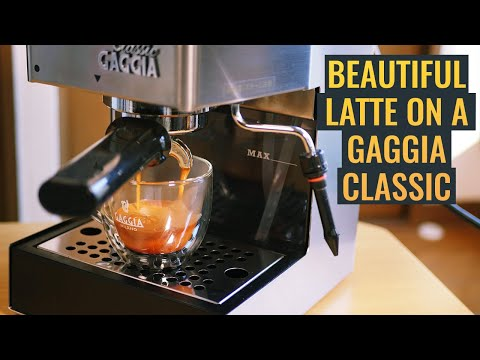Gaggia Classic Espresso Machine – How To Make A Beautiful Latte | Home Cafe