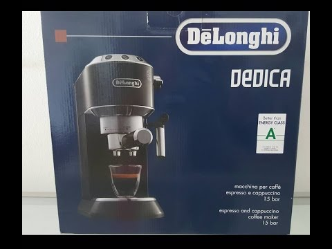 รีวิว วิธีการใช้งานเครื่องชงกาแฟ DeLongHi  รุ่น EC680 .BK