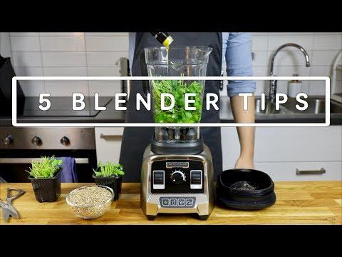 5 Smarta saker att göra med en Blender: Testar Hamilton Beach Professional blender!