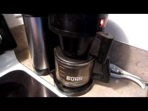 How to FIX a Bunn coffee maker that starts brewing BEFORE you pour the water in!