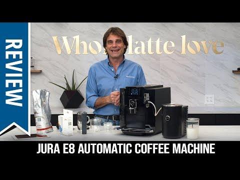 Review: Jura E8 Automatic Coffee Machine