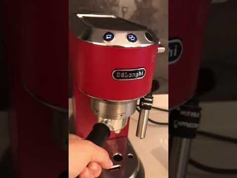 Delonghi dedica EC685 nasıl kullanılır? Latte yapımı? Makine kullanım püf noktaları